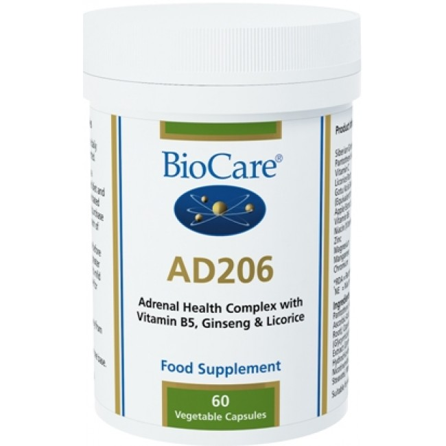 AD206 Adrenal support 60 caps