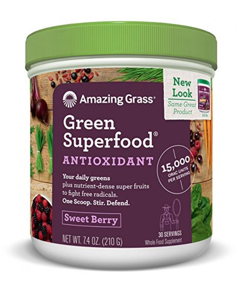 Amazing Grass ORAC Green Superfood 210g tub
