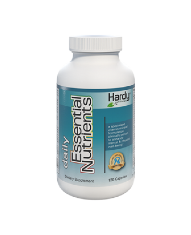 Hardy Daily Essential Nutrients (120 Capsules)