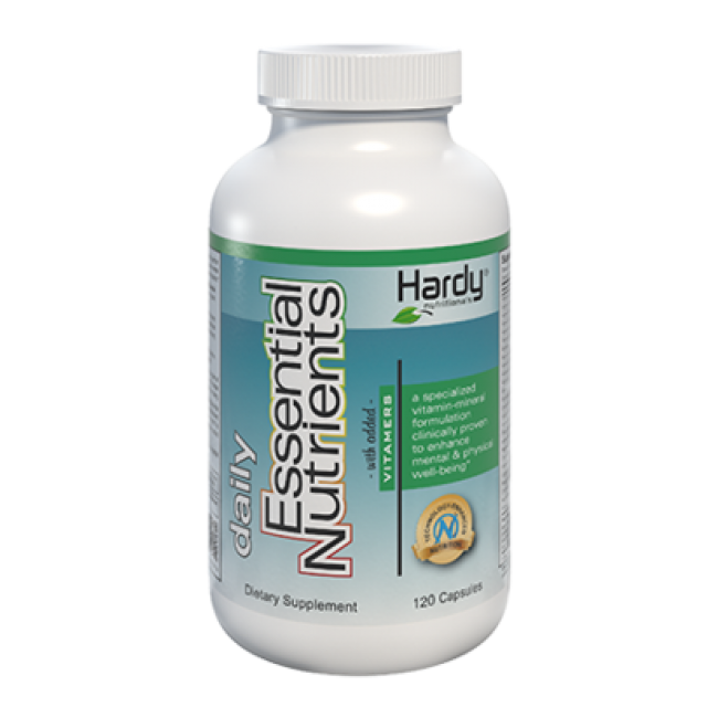 Hardy Daily Essential Nutrients with Added Vitamers (120s)