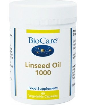 Linseed Oil 1000mg 90 capsules