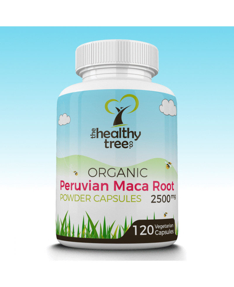 Maca Root Organic Extra strength capsules 2500mg (replacing Maca Pro 10:1)