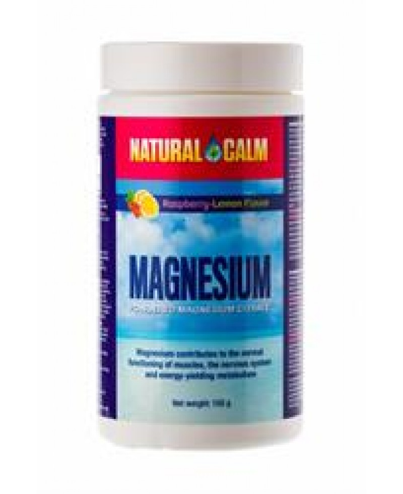 Magnesium Calm, Natural Calm, Organic Raspberry-Lemon Flavor,  150g