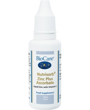 Zinc Plus Ascorbate Drops 30 ml by Nutrisorb