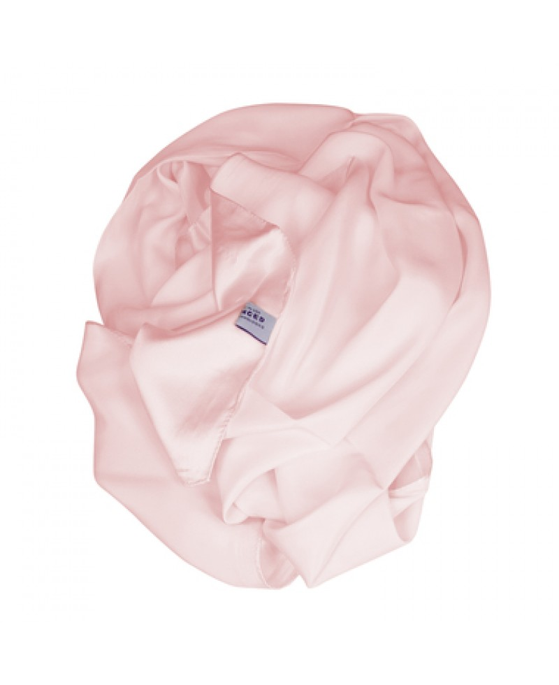 Tachyonized Satin Silk Scarf (Pink)