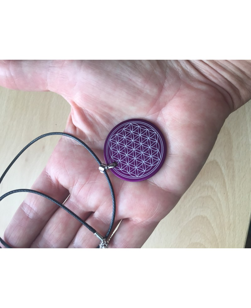 Tesla Flower of Life pendant