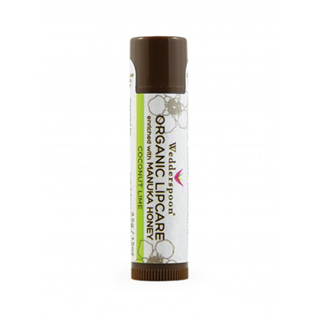 Manuka Honey Organic Lip Balm - Coconut & Lime 4.5g