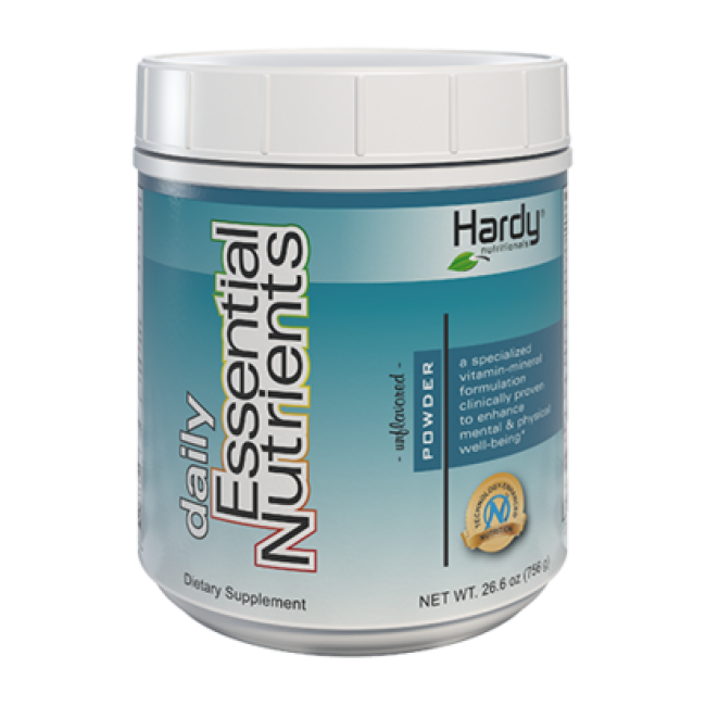 Hardy Daily Essential Nutrients Unflavoured Powder 756g