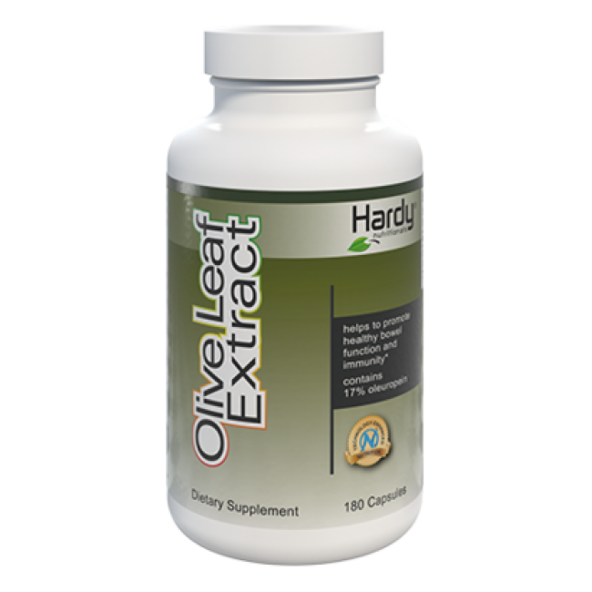 Hardy Olive Leaf Extract 180 capsules