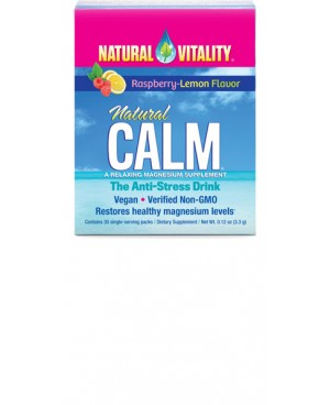 Magnesium Calm by Natural Vitality 30 sachets