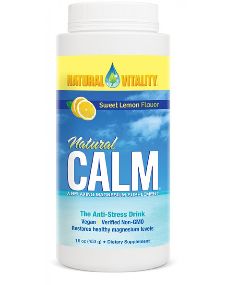 Magnesium Calm Organic Sweet Lemon Flavor, 16 oz (453 g)