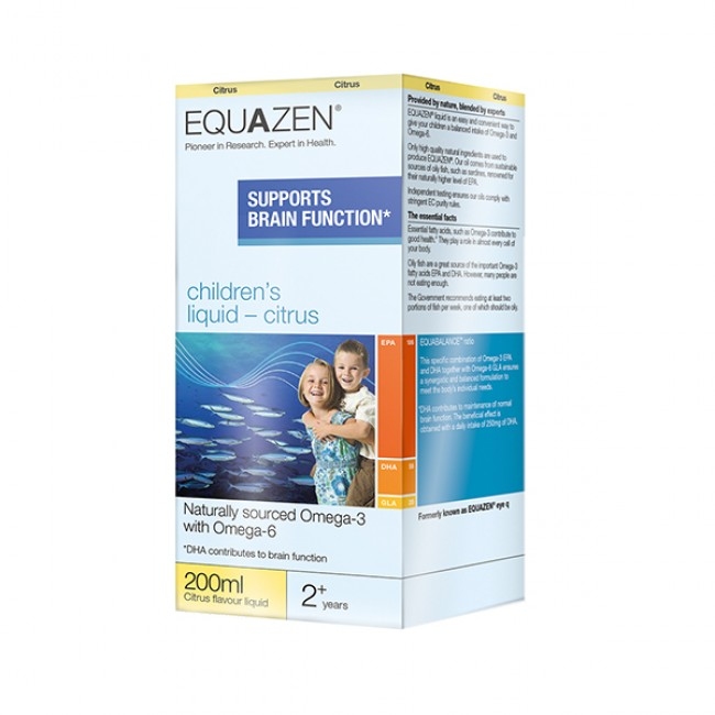 Equazen Eye Q Children's Liquid Citrus