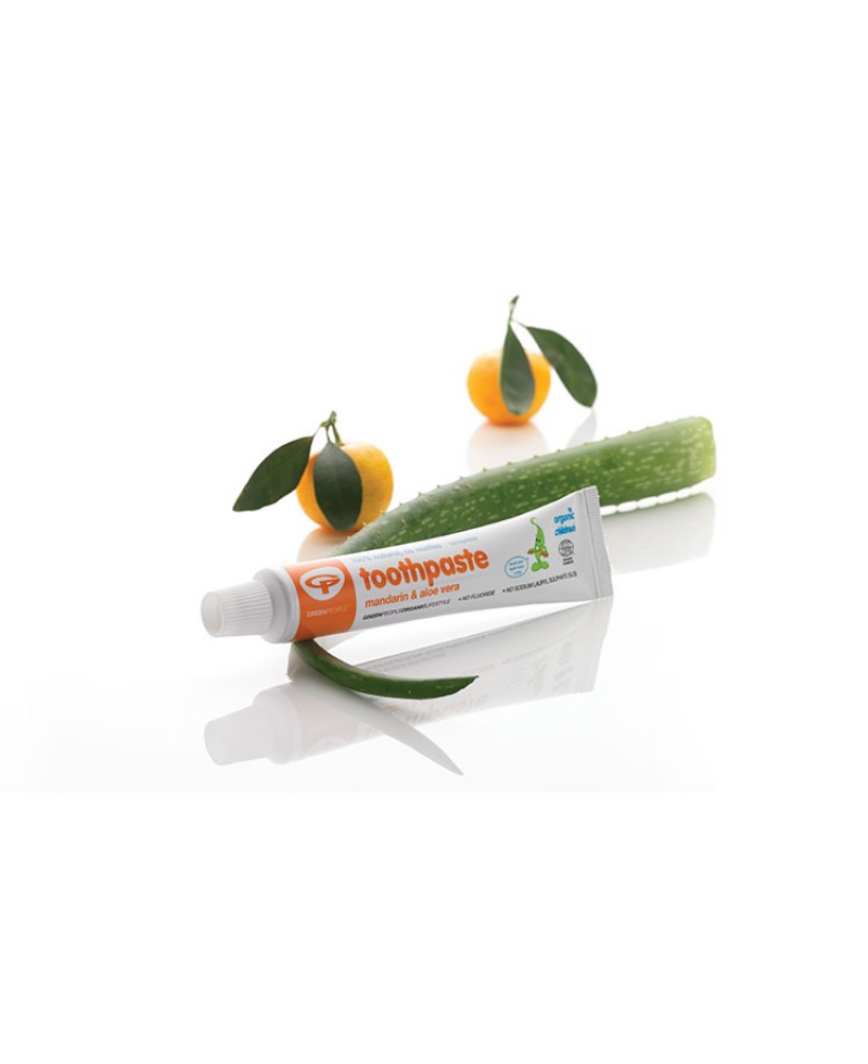 Toothpaste Citrus and Aloe Vera Adult fluoride free
