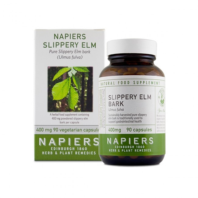 Slippery Elm Capsules by Napiers