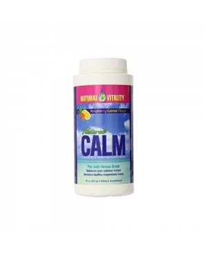 Magnesium Calm by Natural Vitality Organic Raspberry-Lemon Flavor, 16 oz (453 g)