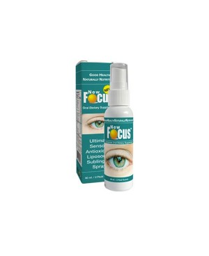NewFocus - Sublingual Lutein & Zeaxanthin For Eye Health 60ml