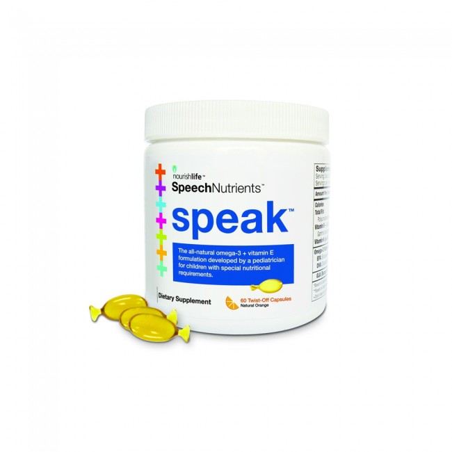 SPEAK soft gel capsules