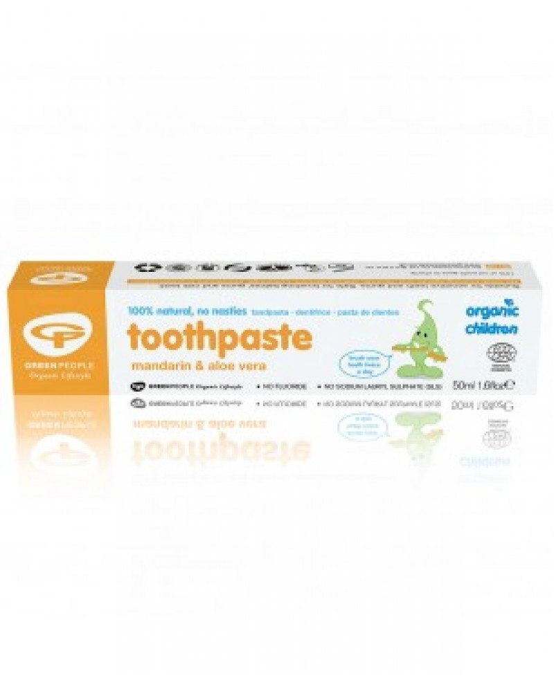 Toothpaste for children mandarin & aloe vera fluoride free