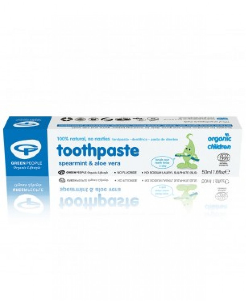 Toothpaste for children Spearmint & Aloe Vera fluoride free